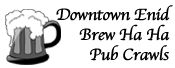 Downtown Enid Brew Ha Ha Pub Crawls